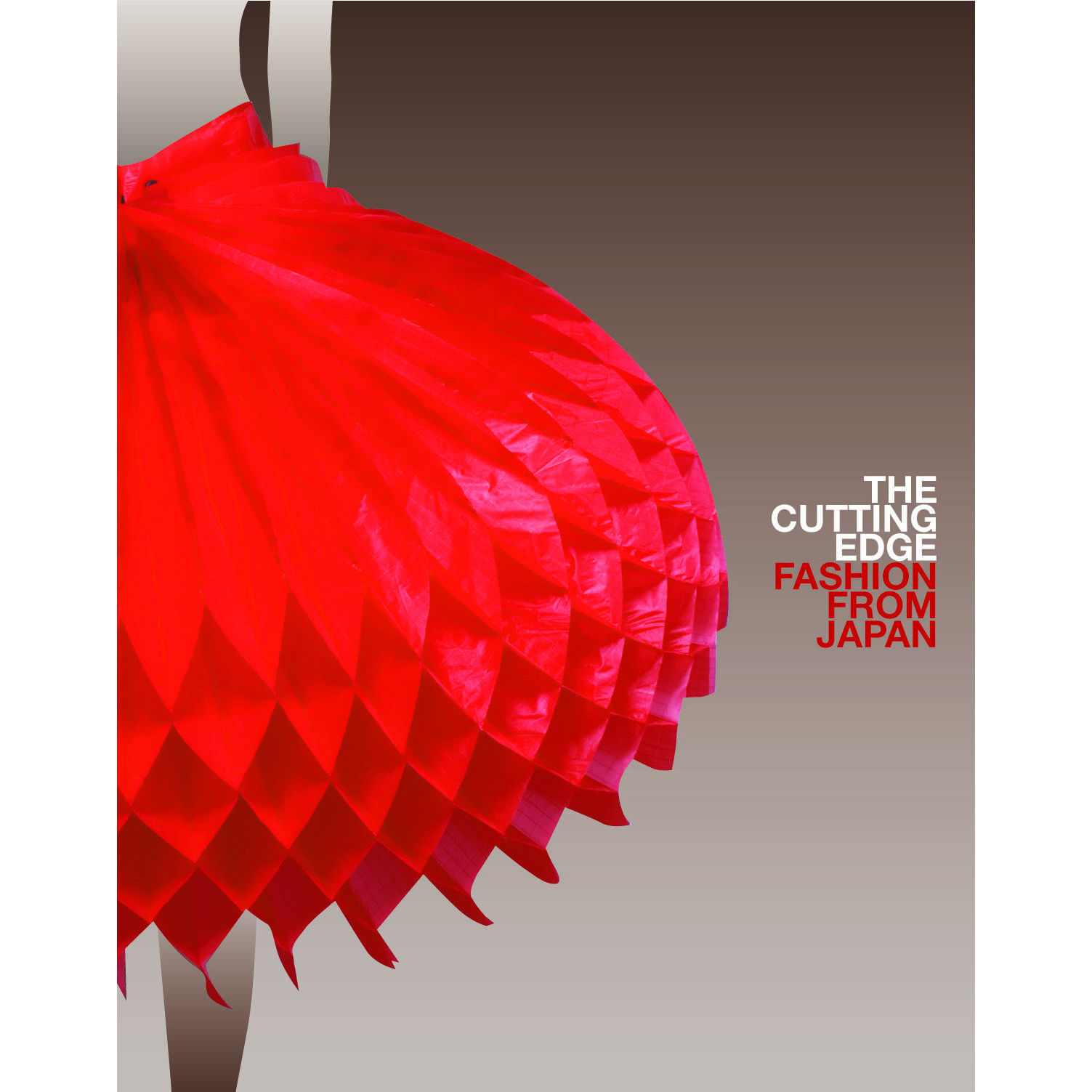 Book cover, The Cutting Edge: Fashion from Japan by Louise Mitchell.