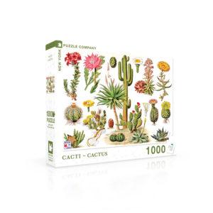 Cacti Jigsaw Puzzle 1000pc