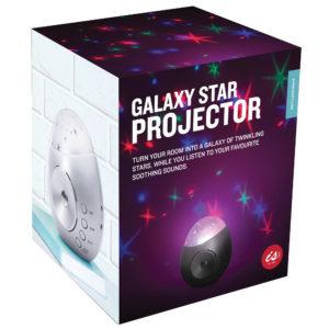 Galaxy Star Projector Sound Machine