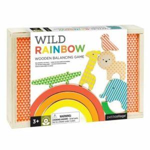 Wild Rainbow Wooden Balancing Blocks
