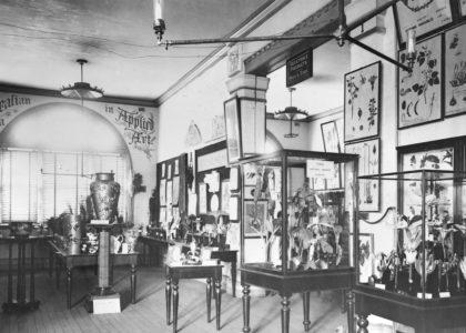 Image: Timber Court, Australian Flora, Technological Museum, Harris Street, Ultimo c1908, Powerhouse Collection