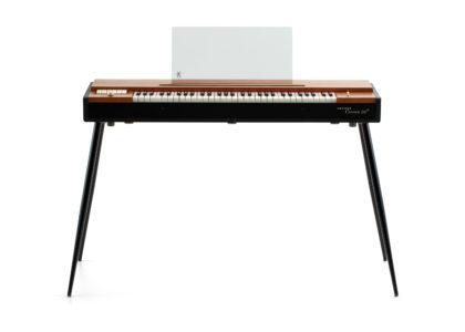 Image of brown electric keyboard