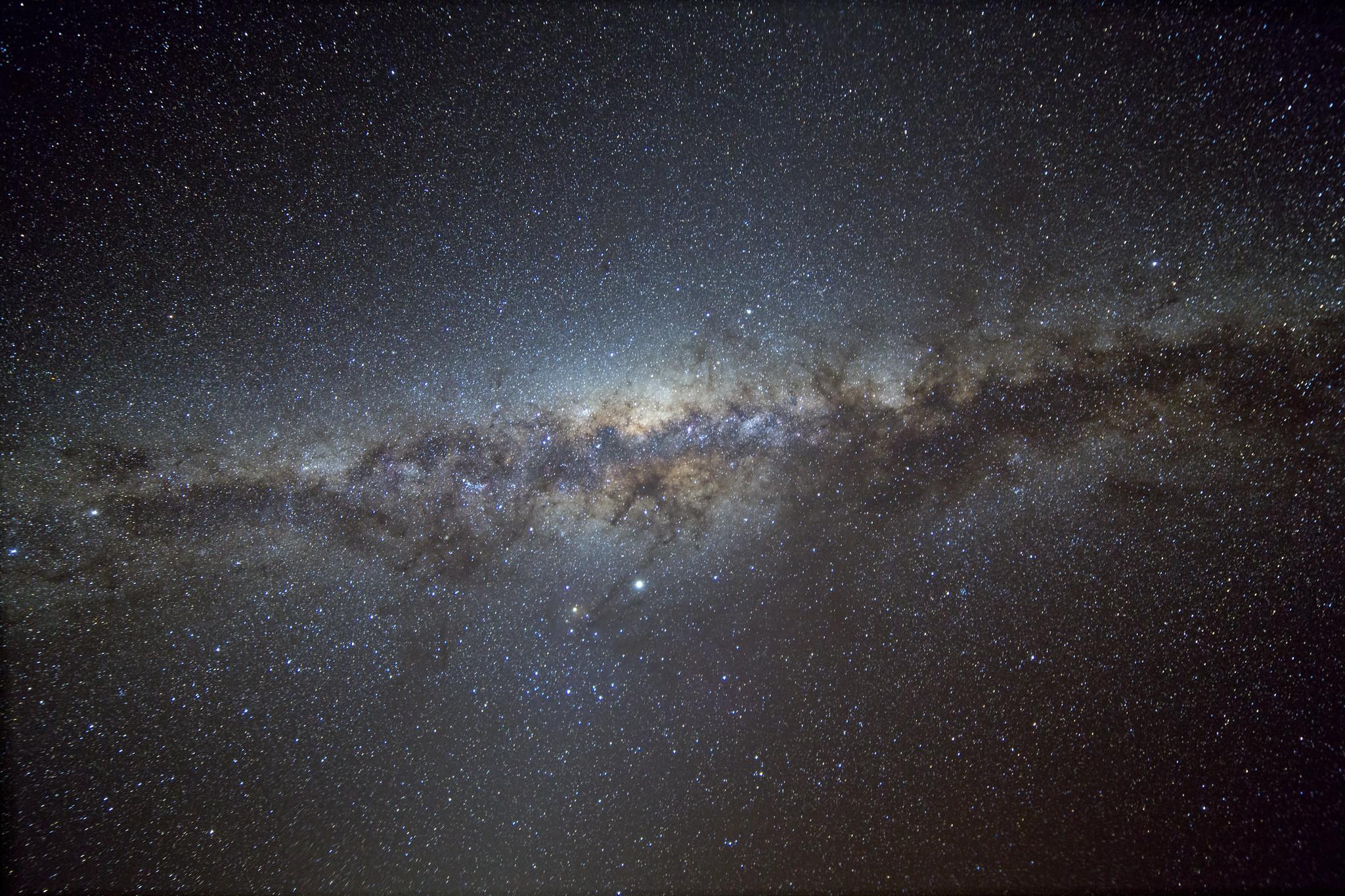 Milky Way, astrophotography by Ángel R. López-Sánchez.