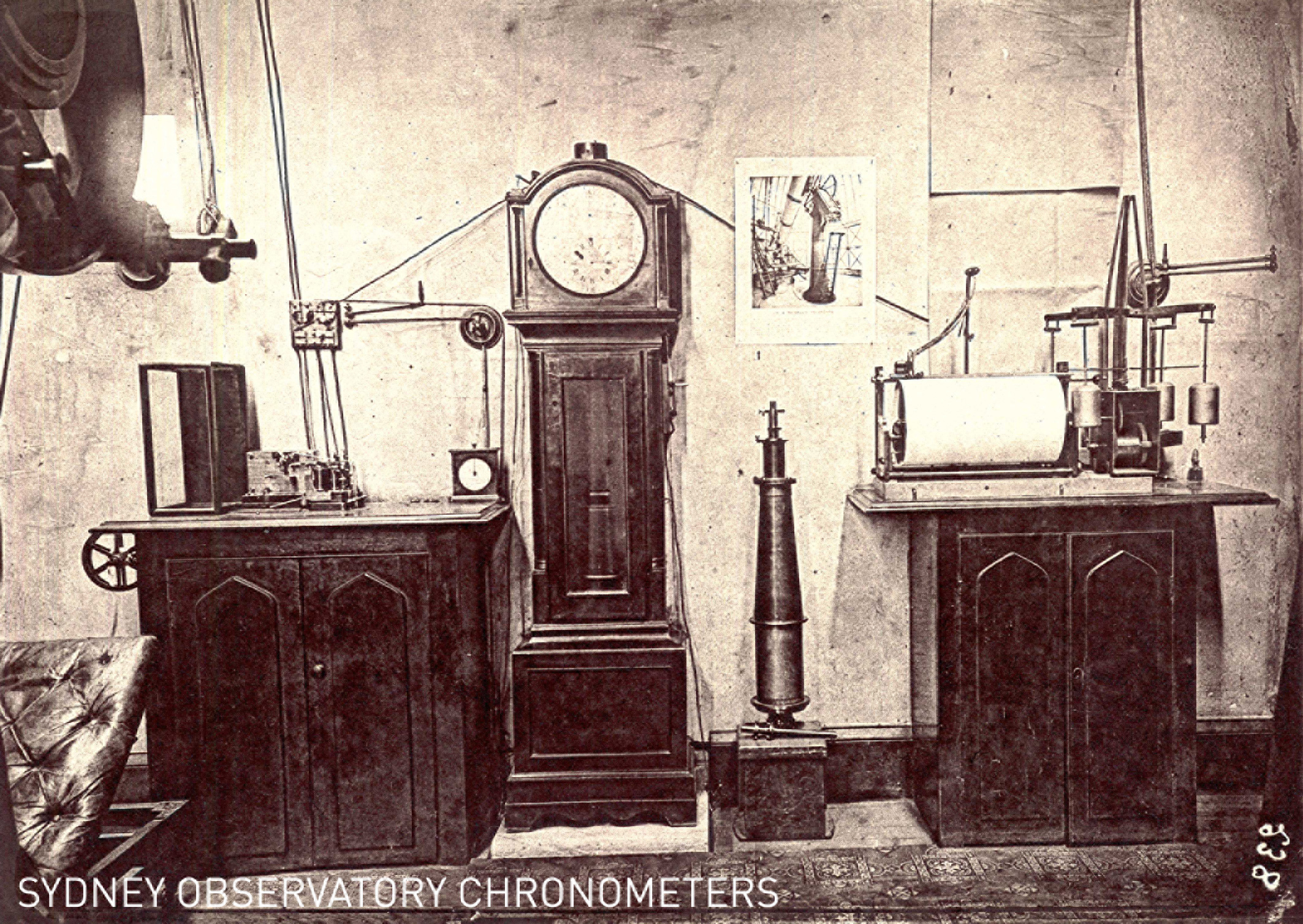 Sydney Observatory electrical clocks and chronometers