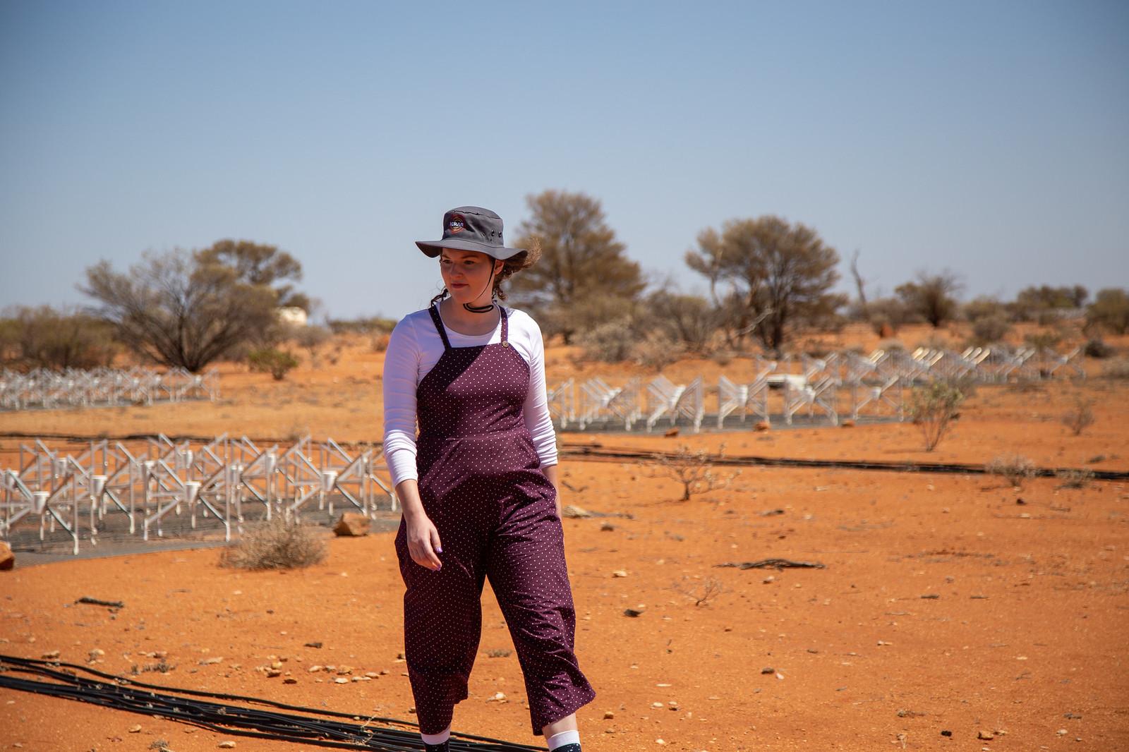 Kat Ross Walking